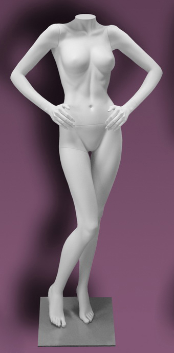 Female mannequins of the Inspiration series 17
