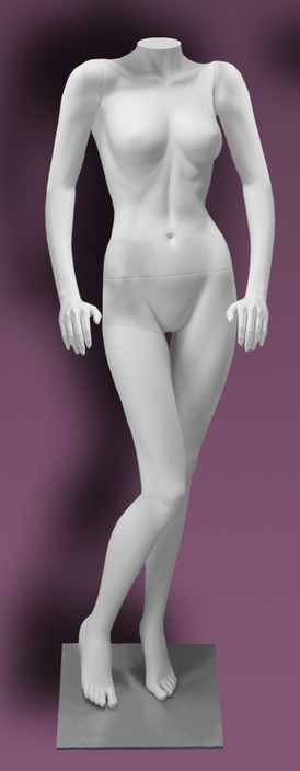 Female mannequins of the Inspiration series 18