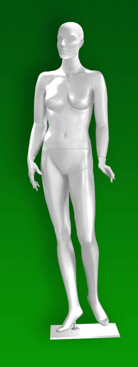 Female mannequins of the TA series 01