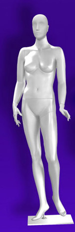 Female mannequins of the Independence series 01