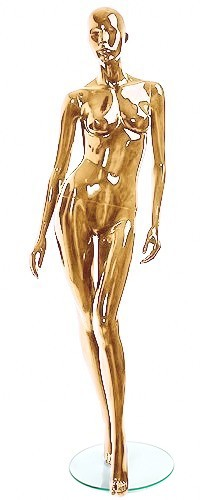 Female Mannequins of the Shiny Gold 2 Series
