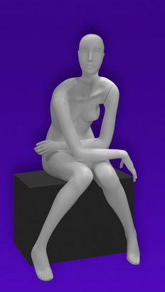 Female mannequins of the Independence series 25