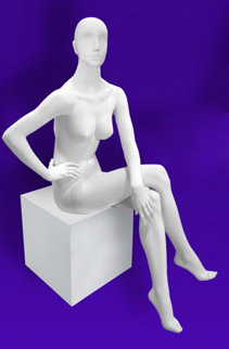 Female mannequins of the Independence series 02