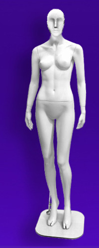 Female mannequins of the Independence series 37