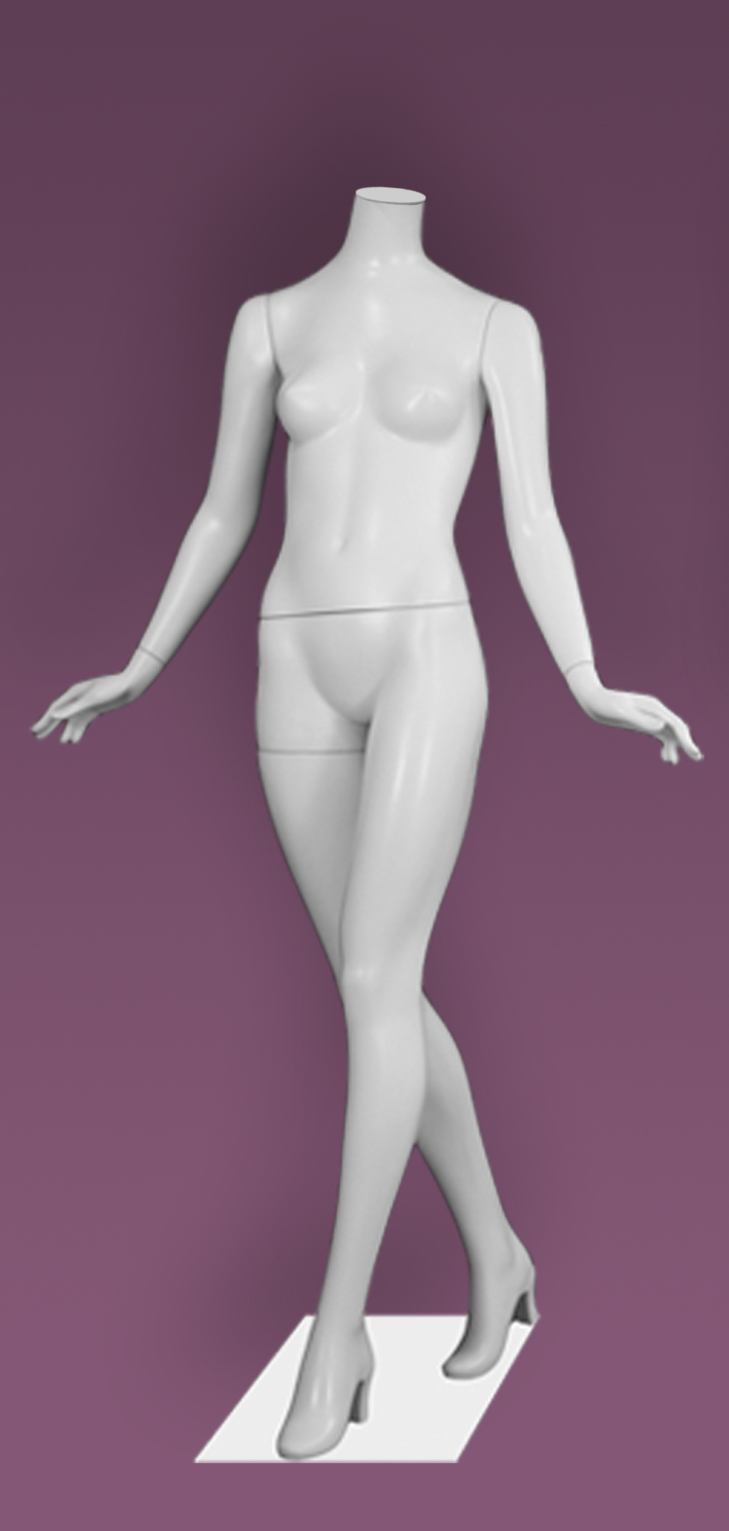 Female mannequins of the Inspiration 39 series