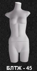 Series of linen torsos BLT 45
