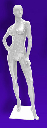 Female mannequins of the Independence series 04