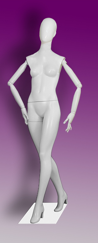 Female mannequins of the Insight series 05