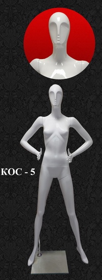 Female mannequins of the Cosmo series Kos-5