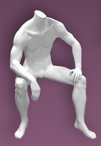 Male mannequins of the Inspiration 6 series