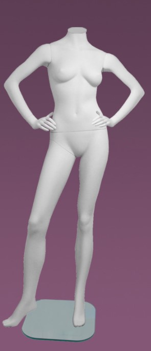 Female mannequins of the Inspiration series 55