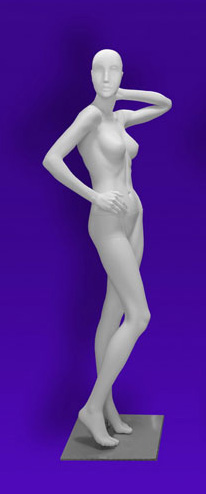 Female mannequins of the Independence series 07