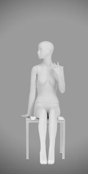 Modesty female mannequins 07