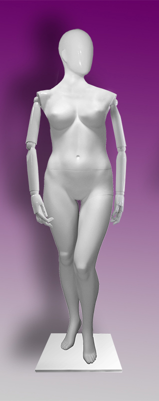 Female mannequins of the Insight series 08