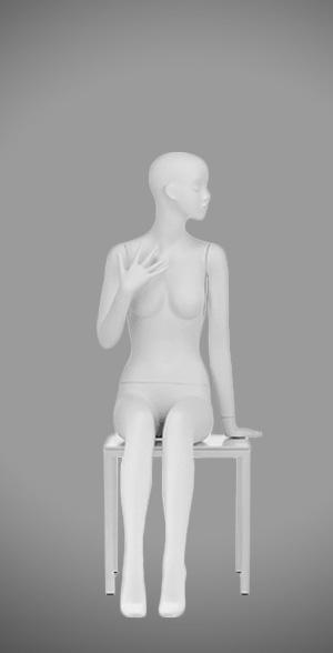 Modesty female mannequins 08