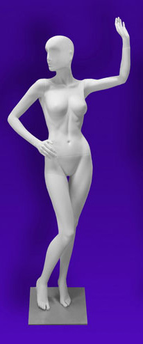 Female mannequins of the Independence series 08