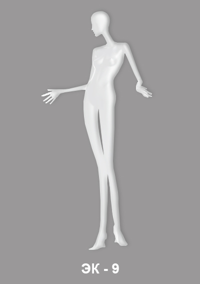 Female mannequin of the Expression series EK-9
