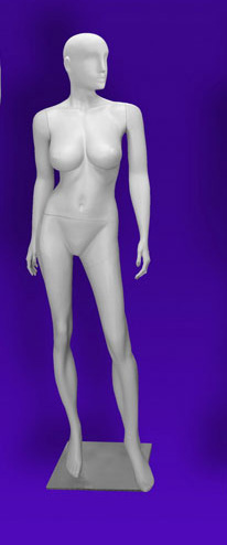 Female mannequins of the Independence series 09