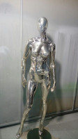 "Female Mannequins Series ""Shiny-Chrome 2"""