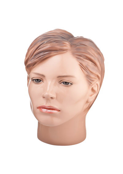Head of a female mannequin Big