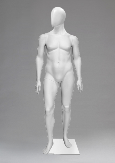 Man's mannequins of the Alien World Cup-10