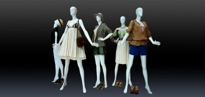 Female mannequins of the Cosmo series Kos-14