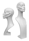 Demo forms of busts of the Grace series