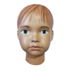 The head of the baby mannequin Fenya