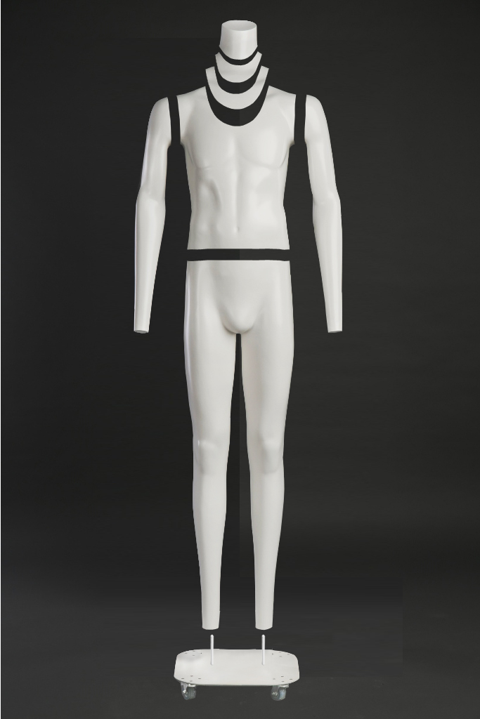 Male mannequin for photography