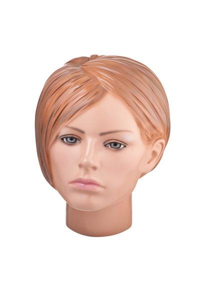 Head of the female dummy of Kapitalin