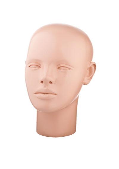 Christina female mannequin head