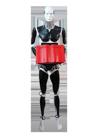 Mannequin Hostess Cyborg