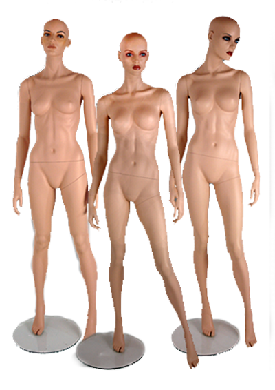 Mannequins of the series