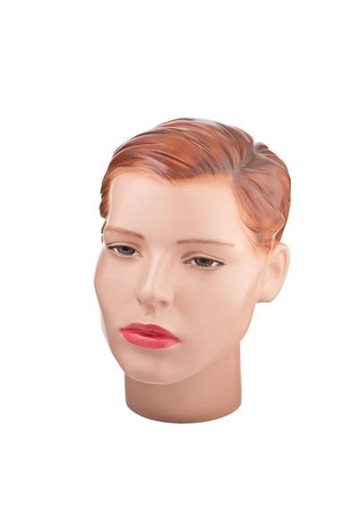 Martha female mannequin head