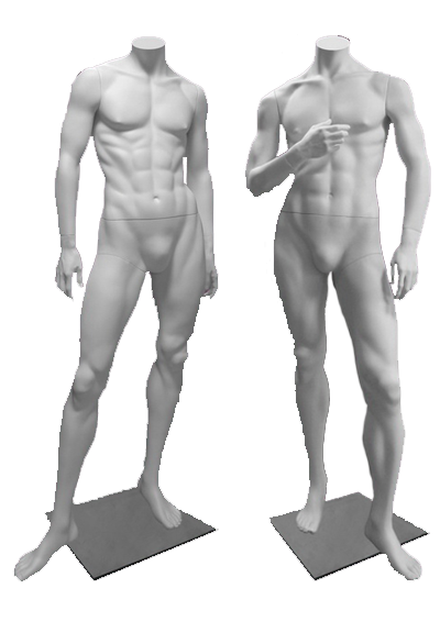 Male mannequins of the Inspiration series
