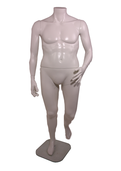 Large male headless mannequin