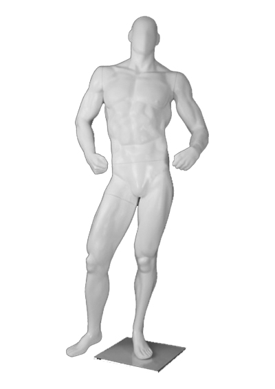 Male mannequin of the Athlete series