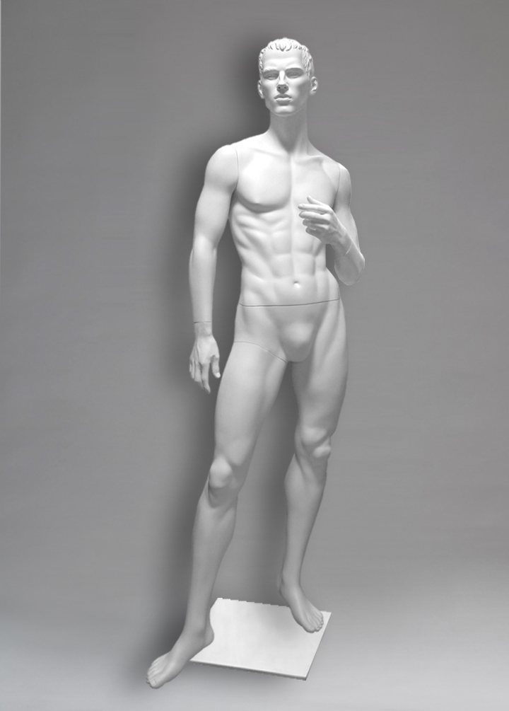 Male mannequin of the Yermolai series 02