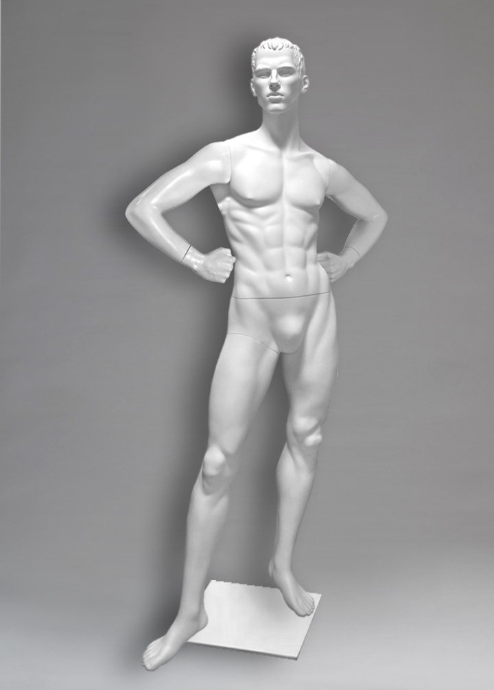 Male mannequin of the Yermolai series 04