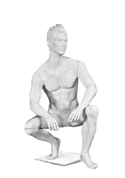 Male mannequin of the series