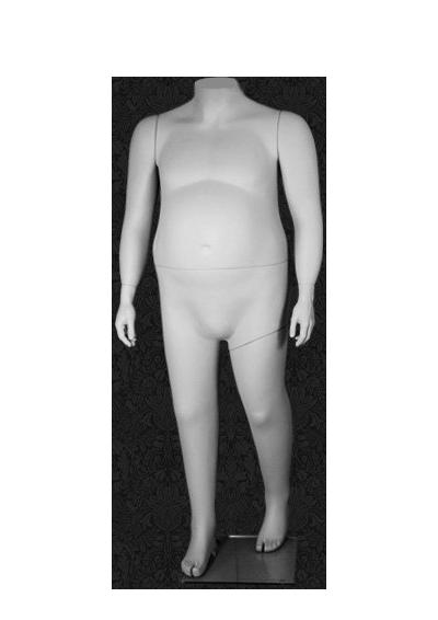 Mannequin of the XXXL BM-68 series