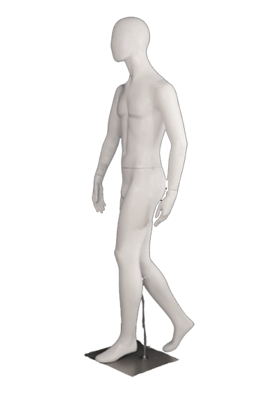 Male mannequin of the Viziter series