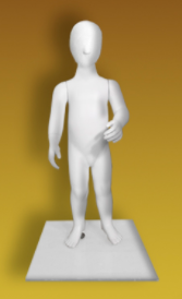 Children's mannequin of the Nakhalenok series of NVF-1,5