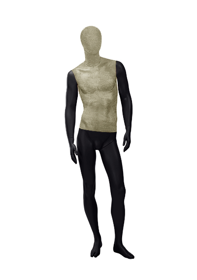 Men's fabric mannequins of the Nostalgie OMV-1 series