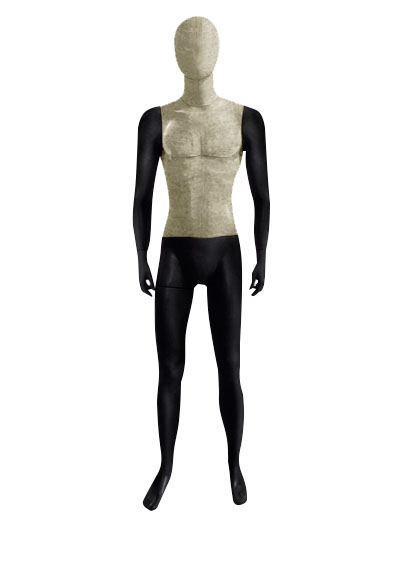 Men's fabric mannequins of the Nostalgie OMV-2 series