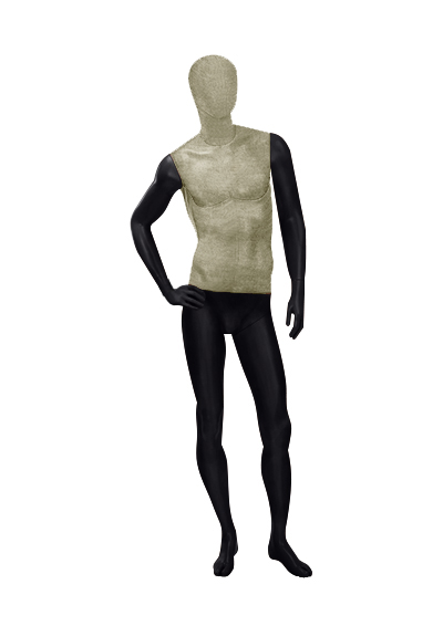 Men's fabric mannequins of the Nostalgie OMV-4 series