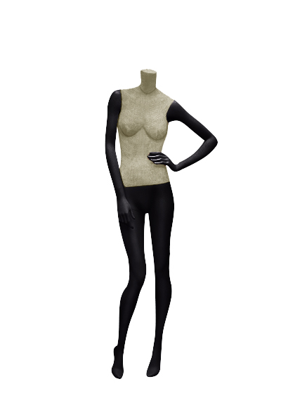 Female fabric mannequins of the Nostalgie series SDBV-2