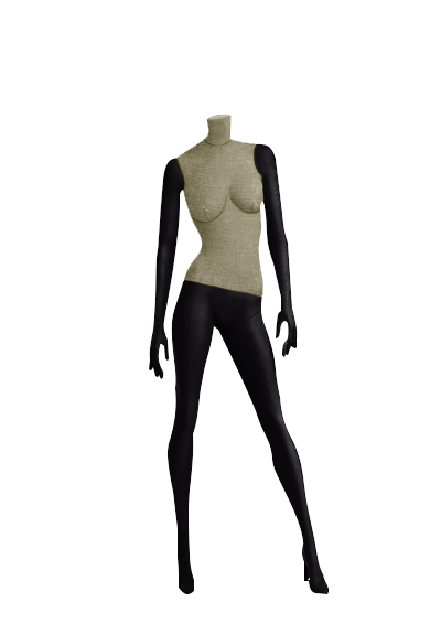 Female fabric mannequins of the Nostalgie series SDBV-3
