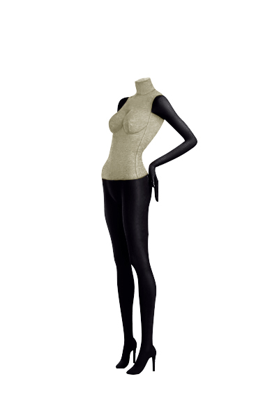 Female fabric mannequins of the Nostalgie series SDBV-4