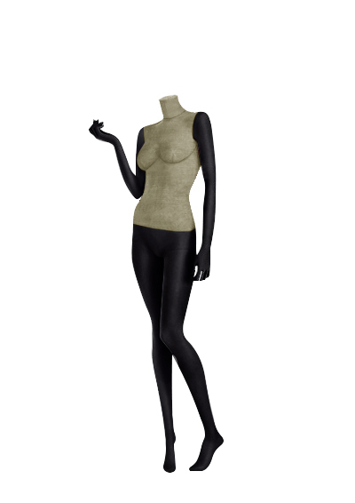 Female fabric mannequins of the Nostalgie series SDBV-5